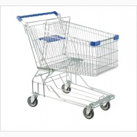 Тележки покупательские для супермаркетов и магазинов