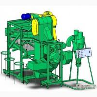 Оборудование для переработки зерна на крупу