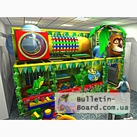 Детские игровые комнаты и лабиринты