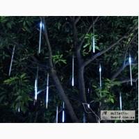 Дерево+ с сосульками. Светодиодная подсветка деревьев