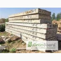 Железобетонные изделия б/у, строительство