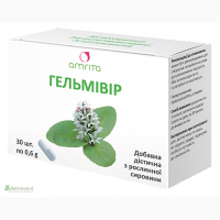 Гельмивир эффективная очистка от паразитов -30 капсул по 0, 6г