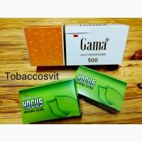 Гильзы для сигарет Набор GAMA 500 +2 HOCUS Menthol