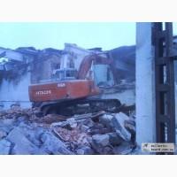 Демонтаж зданий Киев. Снос строений, домов. Разрушение бетона