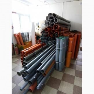 Трубы пластиковие водопроводные, газопроводные, канализационные