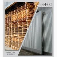GEFEST - современные промышленные сушильные камеры для сушки древесины высокого качества