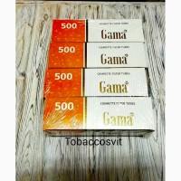 Табак, ильзы для сигарет Набор GAMA 500 4 Упаковки