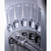 Фасовка жидких препаратов в пластиковую ампулу