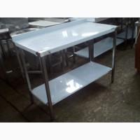 Стол из нержавейки производственный 1200*600 (новый)