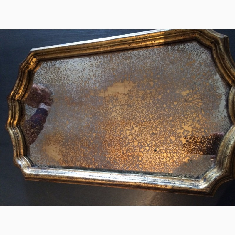 Фото 13. Состаренные зеркала. Золотые состаренные зеркала. Зеркала с эффектом старения
