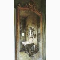 Состаренные зеркала. Золотые состаренные зеркала. Зеркала с эффектом старения