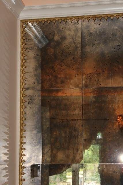 Фото 3. Состаренные зеркала. Золотые состаренные зеркала. Зеркала с эффектом старения