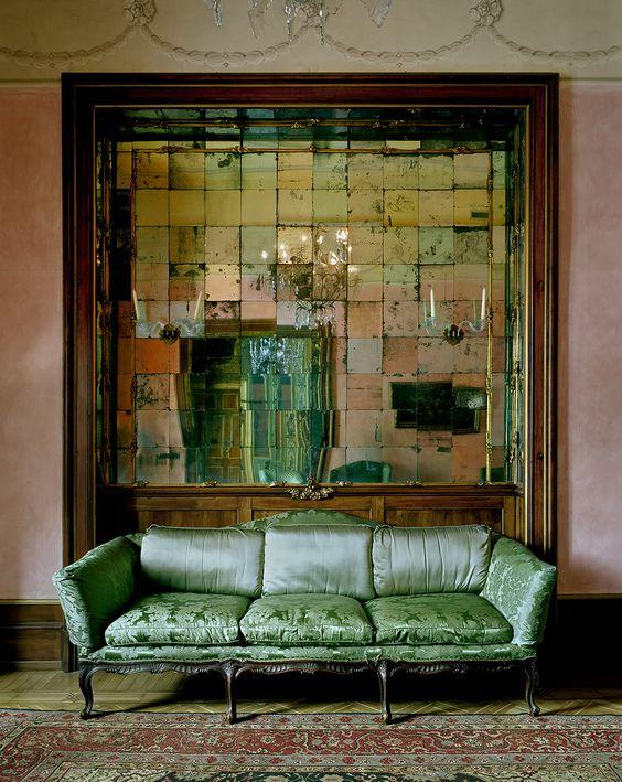 Фото 5. Состаренные зеркала. Золотые состаренные зеркала. Зеркала с эффектом старения