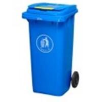Бак для мусора пластиковый 360л., синий. 360А-2BL