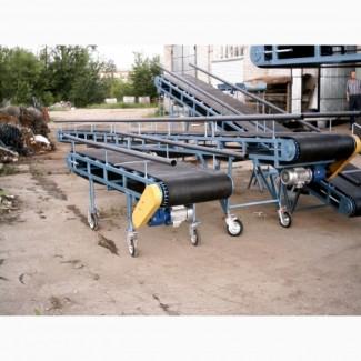 Ленточный транспортер, ленточный конвейер, ролики, роликоопоры