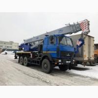 Новый автокран КС-55727F-12 Машека 25 тонн на полноприводном шасси 6х6