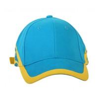 Патриотическая желто-голубая кепка