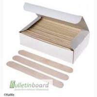 Шпатель деревянный, одноразовый размер 150*18 мм, в уп. 100 шт