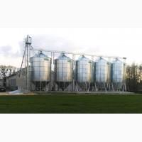 Силосы цилиндрические оцинкованные для зерна, пеллет, комбикорма - Элеватор для зерна цена