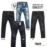Мужские джинсы Jack Jones + !Solid