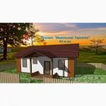 Недорогой теплый каркасный дом из сип панелей от производителя