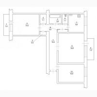 Купите 3х комнатную квартиру в Центре Херсона в р-не пл. Свободы