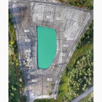 Продам земельные участки в с. Нижняя Дубечня с выходом на озеро. Цена 950 $/сот
