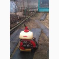 Прод. наплечный мотоопрыскиватель SOLO, производство Германия, б/у