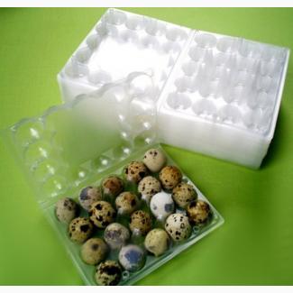 Лоток на перепелині курині яйця 10 20 Від виробника гофро пластикова тара упаковка яєць