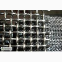 Сетка тканая н/ж 15х2 мм сталь 12Х18Н10Т Гост-3826 ширина 1 м
