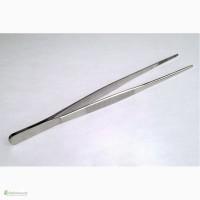 Пинцет нержавейка, анатомический. Длина 15 см, 20 см, 25 см
