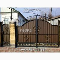Кованые ворота, распашные, откатные, решетчатые, металлические калитки, кованые изделия
