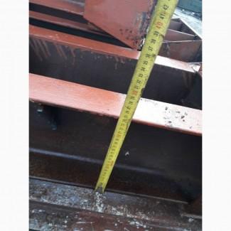 Продам колонны (стойки, опоры) 7, 30м из швеллера 24 бу