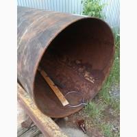 Труба Б/у : 1220мм. длина 3320мм. стенка 9-10 мм