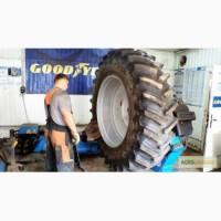 Ремонт и восстановления крупногабаритных шин в Днепре