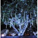 Гирлянда тающая сосулька, декорация деревьев