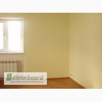 Штукатурка стен, шпатлевка потолка, настил ламината, поклейка обоев, откосы, покраска