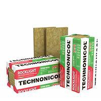 Минеральная вата Роклайт 100 Технониколь 1. 2х0. 6х0. 1