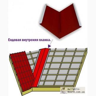 Металлическая ендовая - производство, продажа, монт аж