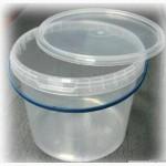 Ведро 1 литр с герметической крышкой
