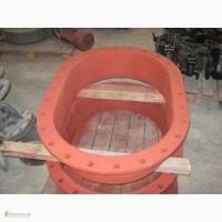 Люк - лаз овальный 900 / 600 для резервуаров и сосудов Резервуарное оборудование - оптом