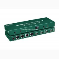 HDSS2-6 2x6 HDMI сплиттер / удлинитель по Cat 5E/6 (4 приемника в комплекте)