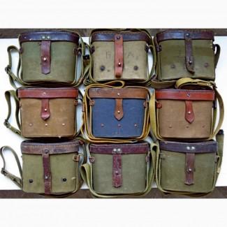 На бинокль СССР армейский, кофра Б6х30, Б8х30 на бинокли кофр-подсумок, футляр, чехол-сумка