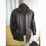Тёплая кожаная мужская куртка ECHTES LEDER. Германия. Лот 289