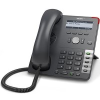Snom D710, sip телефон, 4 линий SIP, 2 Ethernet порта RJ45, разъем RJ12 для ганитуры, HD