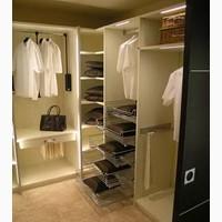 Гардеробные комнаты на заказ у производителя