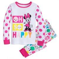 Пижама для девочек Мини Маус, Дисней. 5, 6, 7, 8 лет