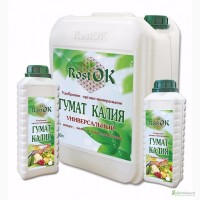 Удобрение органо-минеральное Гумат Калия «РОСТ ОК»ТМ