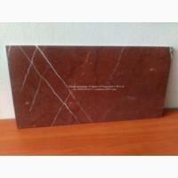 Плитка мраморная красная 610х305х10 мм. Плитка из натурального красно-коричневого мрамора
