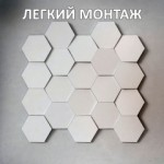 Гипсовые 3D панели от производителя в Киеве. Монтаж 3Д панелей